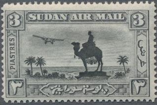 Sudan 1931 Statue of Gen (I) - Air Post Stamps e.jpg
