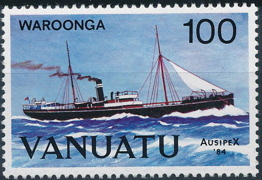 Vanuatu 1984 Ausipex '84 - Ships c.jpg