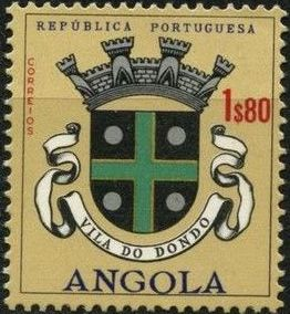 Angola 1963 Coat of Arms - (2nd Serie) j.jpg