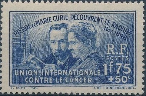 France 1938 40th Anniversary of the Discovery of Radium