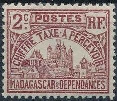 Madagascar 1908 Govenor's Palace