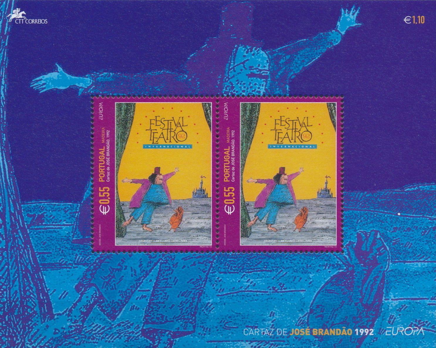Madeira 2003 Europa - Poster Art