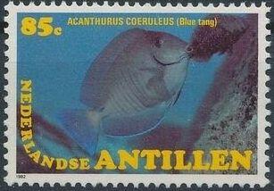 Netherlands Antilles 1982 Fishes c.jpg