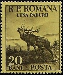 Romania 1954 Month of the Forest