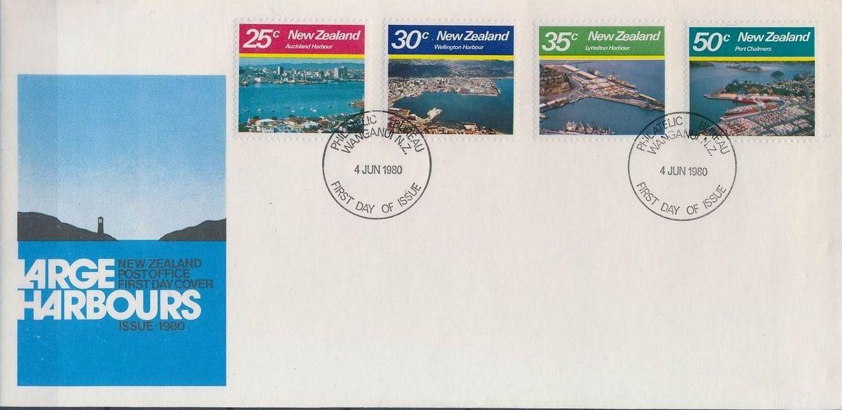 New Zealand 1980 Harbors