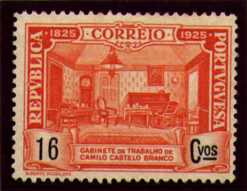 Portugal 1925 Birth Centenary of Camilo Castelo Branco i.jpg