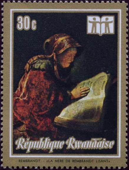 Rwanda 1973 International Book Year - Paintings b.jpg