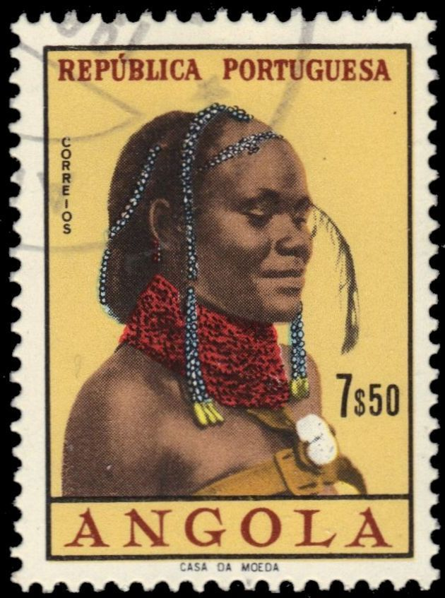 Angola 1961 Native Women from Angola l.jpg