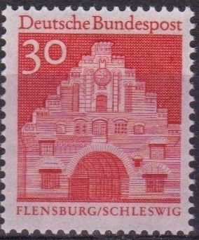Germany, Federal Republic 1967 Building Structures from Twelve Centuries (2nd Group) c.jpg