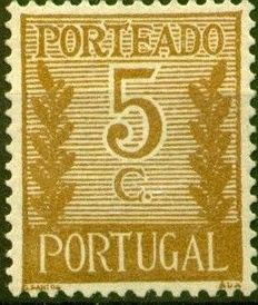 Portugal 1940 Postage Due Stamps