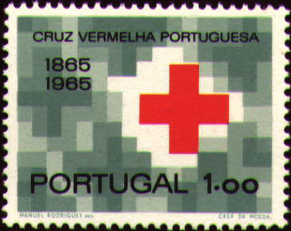 Portugal 1965 Centenary of Portuguese Red Cross