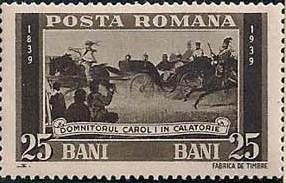 Romania 1939 Centenary of the Birth of King Carol I