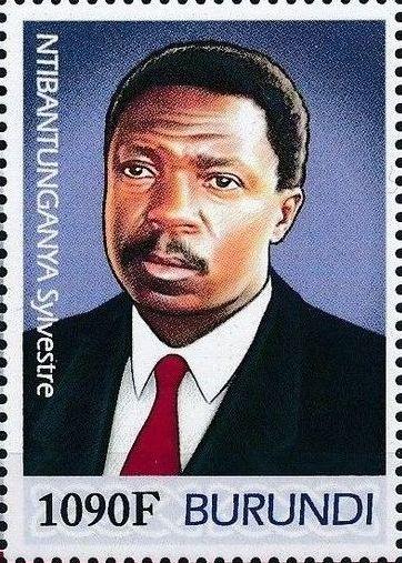Burundi 2012 Presidents of Burundi - Sylvestre Ntibantunganya c.jpg