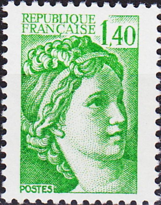 France 1981 Sabine (Republique Française)