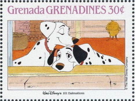 Grenada Grenadines 1988 The Disney Animal Stories in Postage Stamps 3b.jpg
