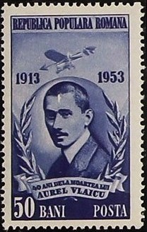 Romania 1953 40th Death Anniversary of Vlaicu, Aviation Pioneer