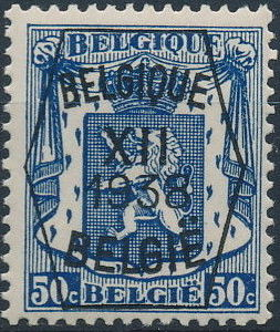 Belgium 1938 Coat of Arms - Precancel (12th Group) f.jpg
