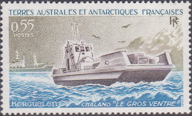 French Southern and Antarctic Territories 1983 Landing Ship Le Gros Ventre, Kerguelen