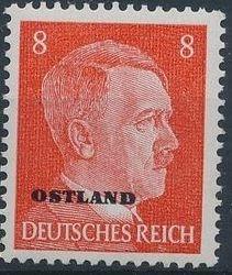 German Occupation-Russia Ostland 1941 Stamps of German Reich Overprinted in Black f.jpg