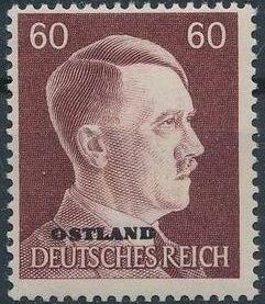 German Occupation-Russia Ostland 1941 Stamps of German Reich Overprinted in Black q.jpg