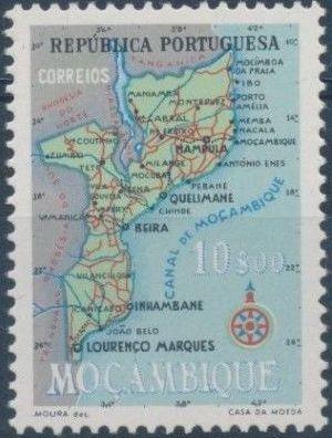 Mozambique 1954 Map of Mozambique g.jpg
