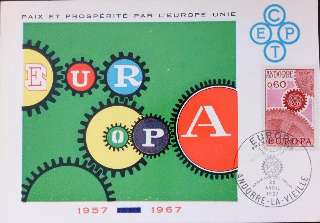 Andorra-French 1967 Europa MCb.jpg