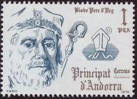 Andorra-Spanish 1979 Bishops of Urgel
