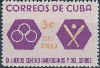 Cuba 1962 9th Central American and Caribbean Games c.jpg