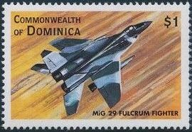 Dominica 1998 Modern Aircrafts m.jpg