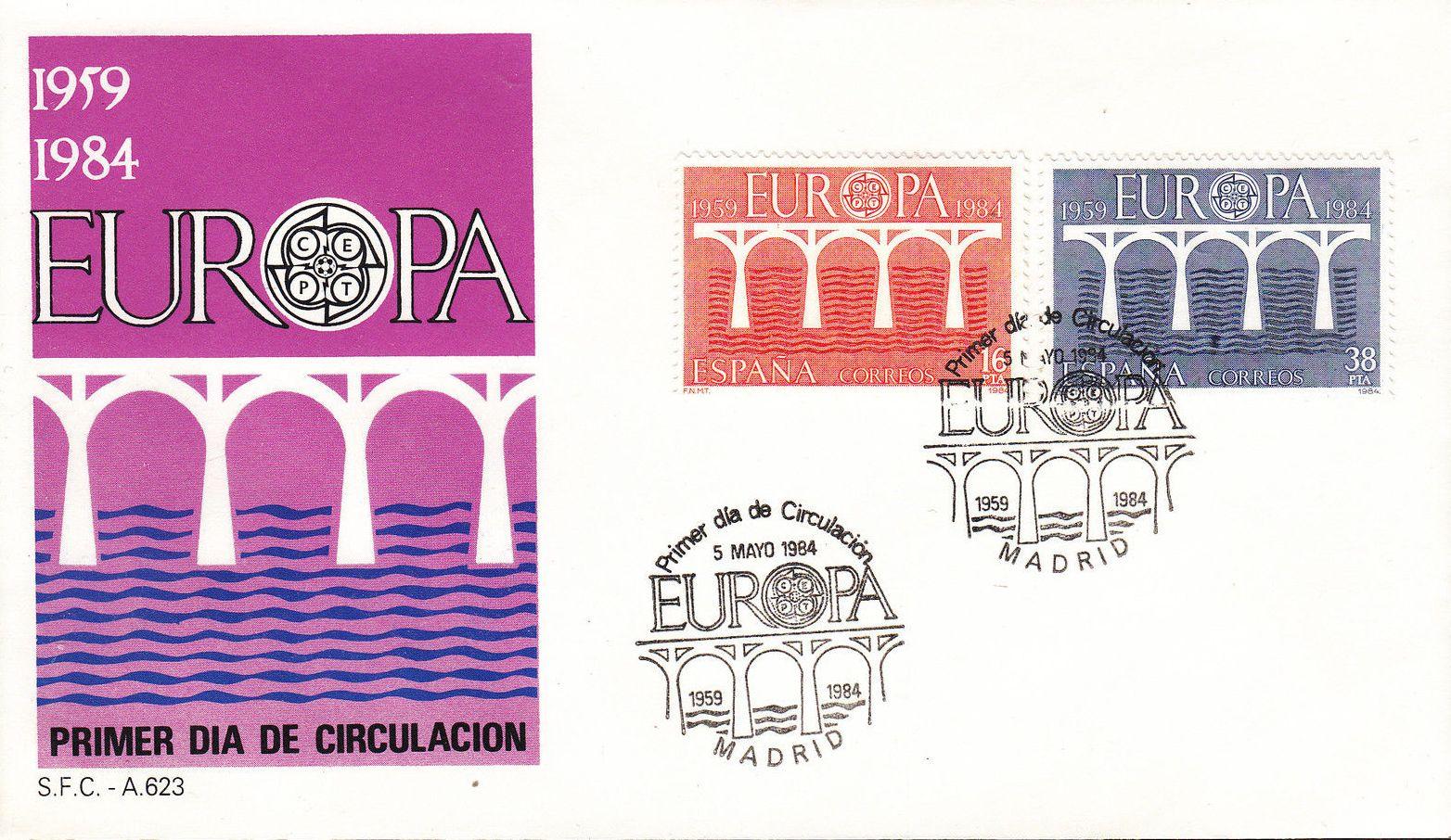 Spain 1984 Europa