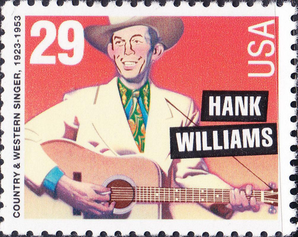 United States of America 1993 American Music Series - Hank Williams