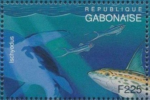 Gabon 1995 Prehistoric Wildlife q.jpg