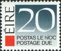 Ireland 1988 Postage Due Stamps g.jpg