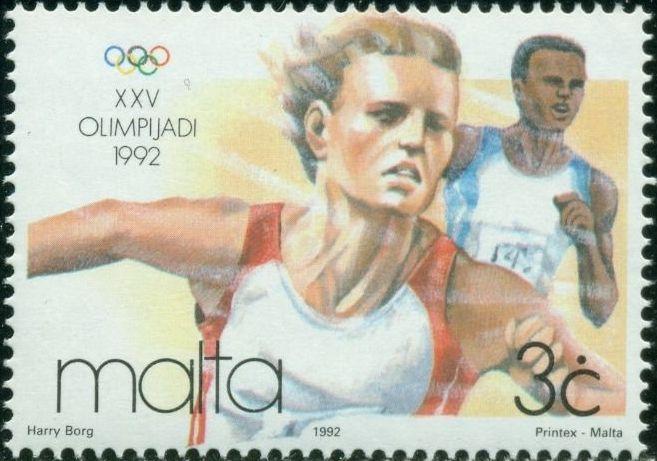 Malta 1992 Olympic Games - Barcelona