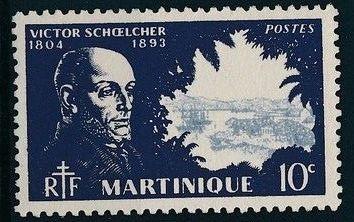 Martinique 1945 Victor Schoelcher