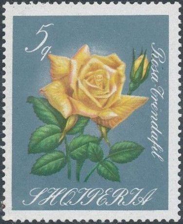 Albania 1967 Roses
