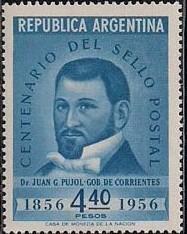 Argentina 1956 Centenary of Argentine Postage Stamps d.jpg