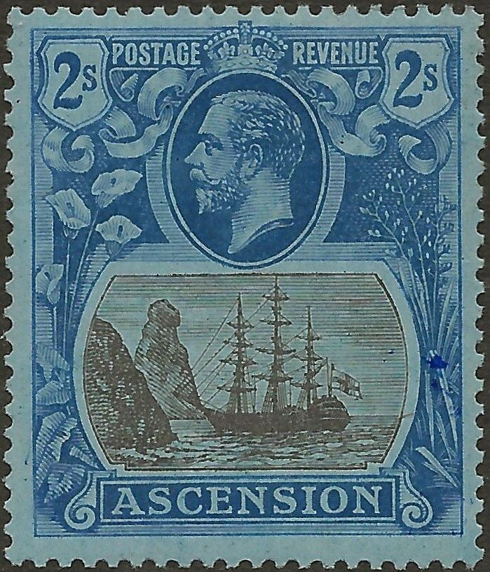 Ascension 1924 Seal of the Colony k.jpg
