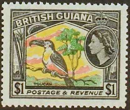 British Guiana 1954 Elizabeth II and Local Scenes m.jpg