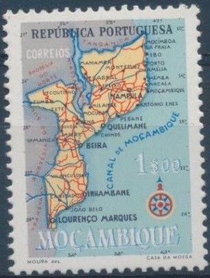 Mozambique 1954 Map of Mozambique d.jpg