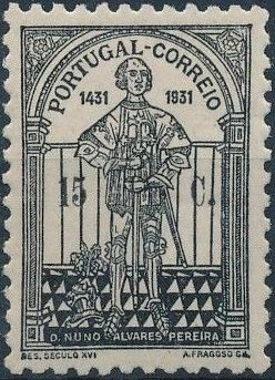 Portugal 1931 5th Centenary of the Death of St. Nuno Álvares Pereira