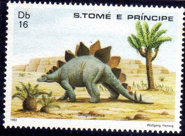 St Thomas and Prince 1982 Dinosaurs b.jpg