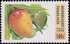 Togo 1996 Fruits