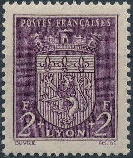 France 1941 Coat of Arms (Semi-Postal Stamps) h.jpg