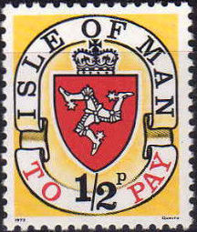 Isle of Man 1973 Postage Due Stamps