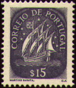 Portugal 1943 Portuguese Caravel (2nd Issue)