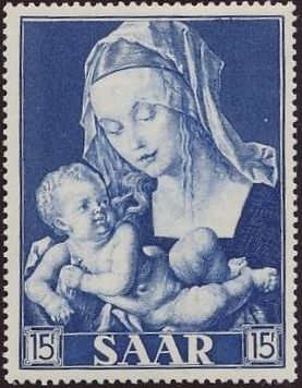 Saar 1954 Centenary of the Promulgation of the Dogma of the Immaculate Conception c.jpg