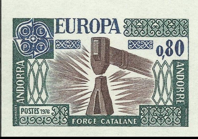 Andorra-French 1976 Europa c.jpg