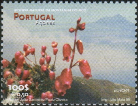 Azores 1999 EUROPA - Nature and National Parks