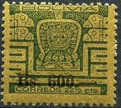 Bolivia 1960 Designs from Gate of the Sun i.jpg